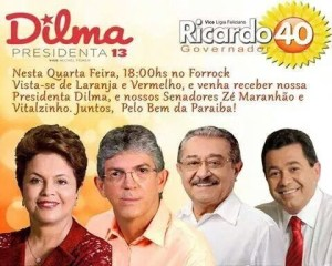 evento pt psb 300x240 - Confirmado: Entrevista do PMDB será para anunciar apoio a Ricardo Coutinho