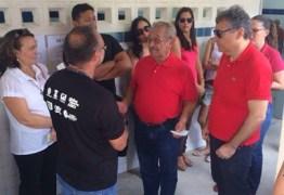 Urna em que José Maranhão votaria apresenta problemas