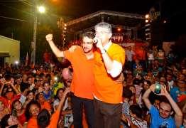 Em Cajazeiras, Ricardo defende estágio remunerado para jovens e anuncia instalação do IML