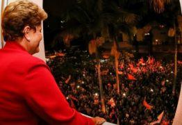 Choveu Dilma em São Paulo ontem à noite. Assista ao vídeo