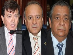 RATIFICANDO: João Henrique, Edmilson Soares e Branco Mendes confirmam apoio a Galdino