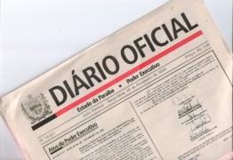 DIÁRIO OFICIAL: Fapesq divulga resultado do projeto 'Paraíba Humana e Inteligente'