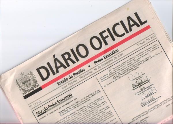 diario oficial - DIÁRIO OFICIAL: Fapesq divulga resultado do projeto 'Paraíba Humana e Inteligente'