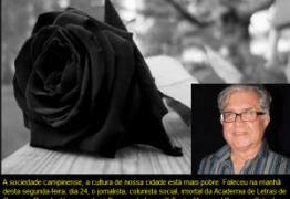 IMPRENSA DE LUTO: Morre em Campina Grande jornalista e ex-professor da UEPB, Hermano José