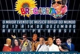 Confira a programação do Bregareia 2014