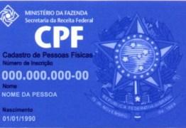 CPF de cliente será informado à Receita Federal