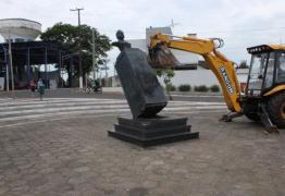 Baseada no relatório da Comissão da Verdade, prefeitura remove estátua