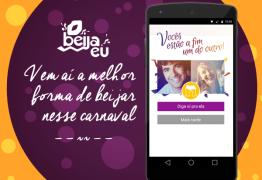 """Tinder do carnaval – empresa cria o aplicativo """"Beija Eu"""" para unir foliões em blocos e festas"""