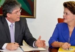 Após derrota na Câmara, Dilma se reúne com o governador Ricardo Coutinho