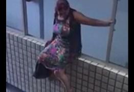 BRIGOU COM O MARIDO: Mulher tenta se jogar do segundo andar do prédio da Assembléia Legislativa