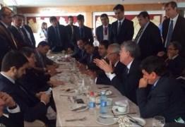 ENCONTRO DE GOVERNADORES: Ricardo cobra mais apoio a industrialização do Nordeste