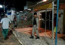 UMA EXPLOSÃO POR DIA: Bandidos explodem agência bancária, atiram contra posto de Polícia e assustam população em Nova Olinda