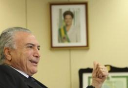 Temer quer fazer inventário do governo Dilma
