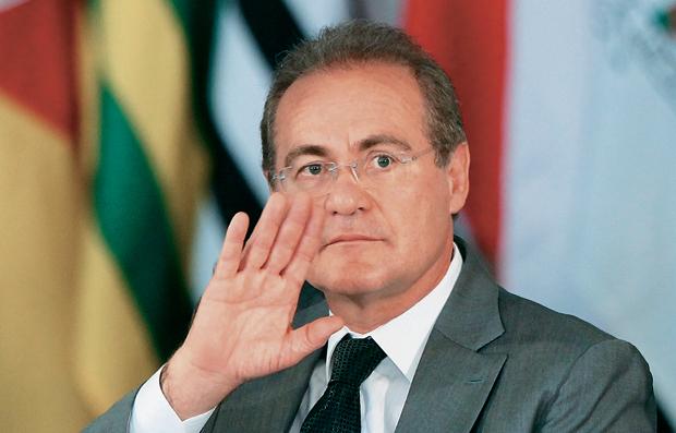 Renan Calheiros A - Ministro do STF diz que vai liberar 'em breve' denúncia contra Renan