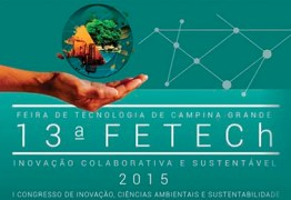 Feira de Tecnologia de Campina Grande será lançada nesta segunda-feira (24)