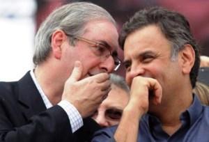 aecio neves eduardo cunha reducao da maioridade penal 300x204 - Se STF aceitar denúncia, Cunha deve deixar o cargo, diz Aécio