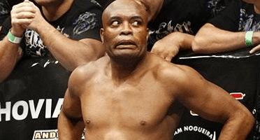 anderson silva - Anderson Silva piorou lesão no joelho descendo escada na semana do UFC 237