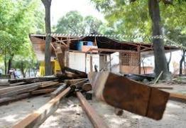 PMJP encerra retirada de quiosques, comerciantes já foram relocados