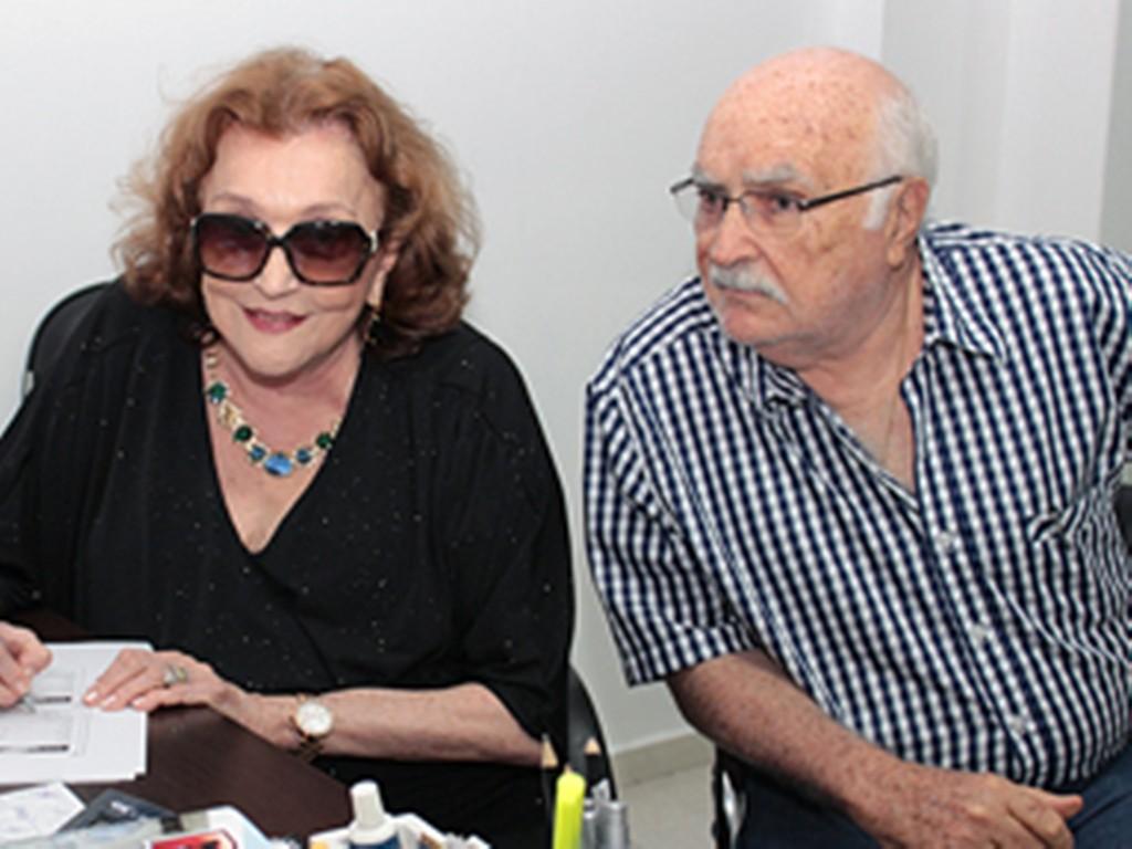 Lúcia Braga e Wilson Braga 1 1024x768 - DEPOIS DO INFARTO: Wilson Braga operado recebe stents e está na UTI