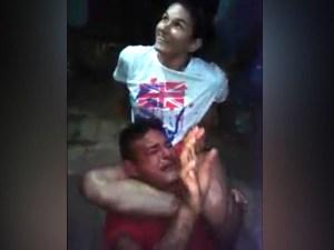 bandido 300x225 - VEJA VÍDEO - Lutadora de MMA imobiliza assaltante  no Maranhão