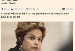 Mídia estrangeira muda tom e aponta maior ímpeto de impeachment no Brasil