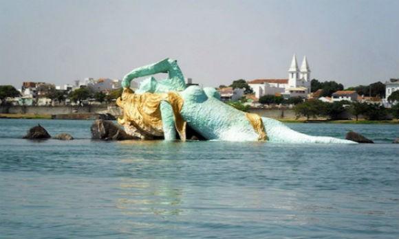 petrolina 580x348 - Vereador atribui seca do Rio São Francisco à imagem de Iemanjá