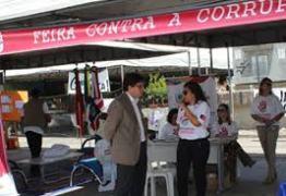 Dia Internacional Contra a Corrupção: Sindifisco-PB participou da 3º Feira Contra a Corrupção, em João Pessoa