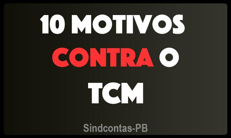 banner contra TCM - Sindifisco-pb vai mostrar na Audiência Pública de quarta que é contra a criação do TCM