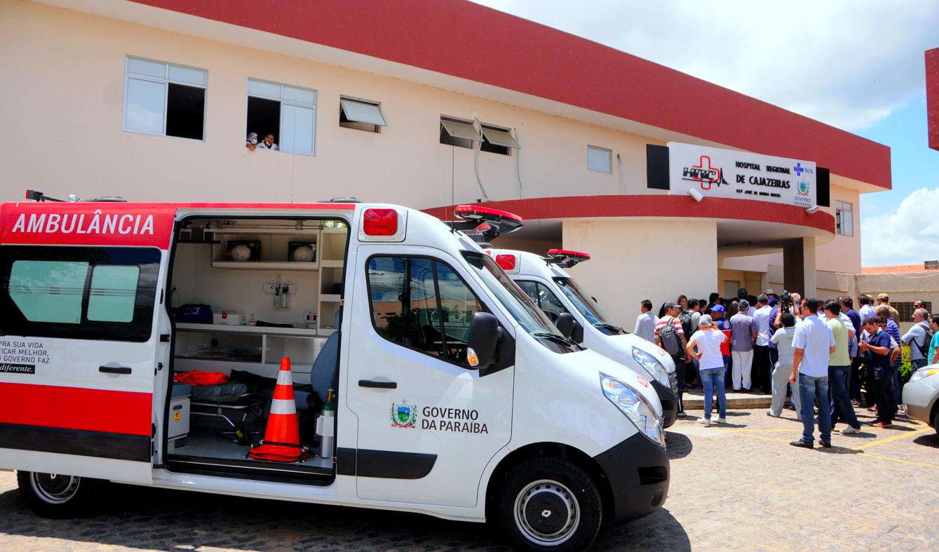 hospital de Cajazeiras - COLAPSO NO SERTÃO: Hospitais de Cajazeiras, Piancó, Pombal e Patos chegam a 100% de ocupação por pacientes com Covid-19