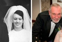 Eles se casaram novamente 23 anos após assinarem o divórcio