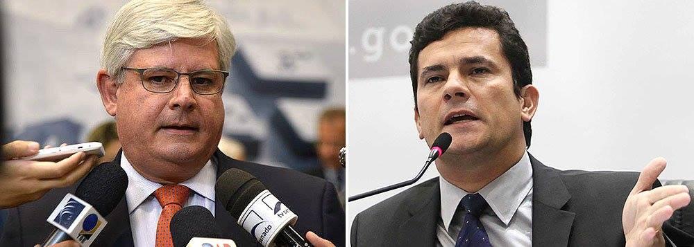 Janot e Moro - Janot diverge de Moro sobre ação contra Dilma