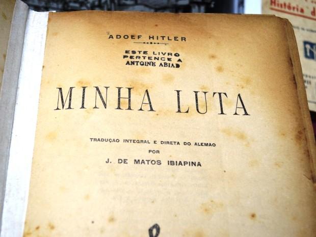 LIVRO HITLER - POLÊMICA, CENSURA OU NÃO ? TJ-RJ proíbe venda e divulgação do livro  'Mein Kampf', autobiografia de Hitler
