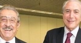Vice presidente almoça com José Maranhão e pede ajuda nas propostas para saída da crise