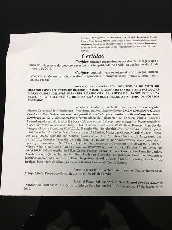 Monica Figueiredo João Alves versus romero marcelo fev2016 04 1 - QUERIA FURAR A FILA: Clima esquenta entre desembargadores no TJ - Filha de desembargador quer ser nomeada