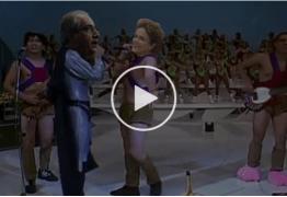Escuta Essa! Na suruba de Cunha, Dilma come acarajé indigesto – VEJA VÍDEO