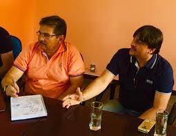 fabio e galdino - Fábio Maia não comparece ao encontro do PSB e gera especulação