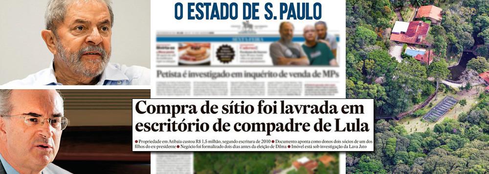 lula advogados sitio - Advogado de Lula responde reportagem do Estadão e denuncia 'sensacionalismo'