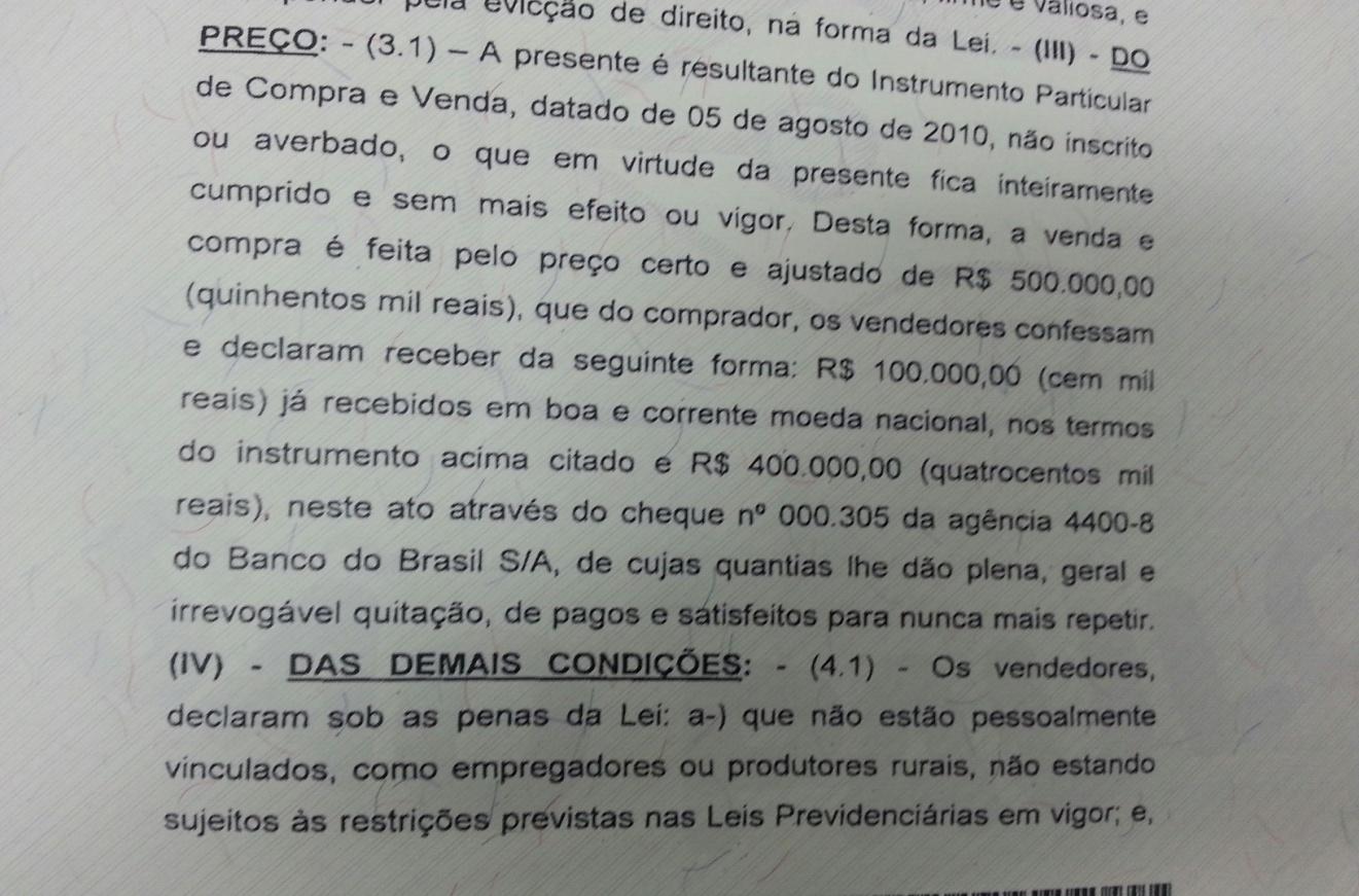sitio 1 - Advogado de Lula responde reportagem do Estadão e denuncia 'sensacionalismo'
