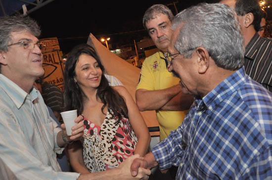 """zé e ricardo - Ricardo responde ao senador Maranhão: """" O PSB é majoritário, mas quando o parceiro não quer a gente respeita"""""""