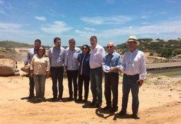 Comitiva da CNBB chega à Paraíba para visitar obras da Transposição