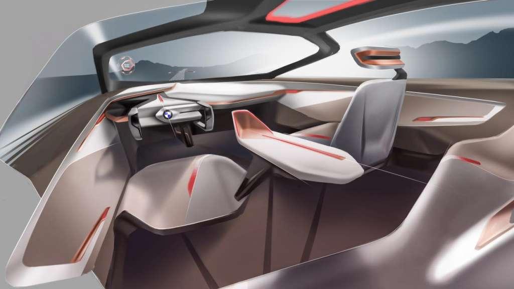 BMW Vision 3 1024x576 - BMW faz 100 anos e lança conceito revolucionário sobre o carro do futuro - VEJA VÍDEO
