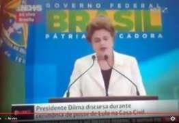Assista à posse de Lula como ministro de Dilma Rousseff
