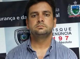 EX VEREADOR PRESO 310x230 - Ex-vereador da Paraíba é preso suspeito de fraudes superiores a R$ 300 mil