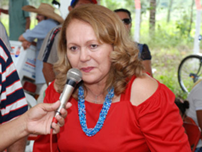 Fatima Paulino - PMDB de Guarabira fará pesquisa para referendar nome de Fátima Paulino como candidata