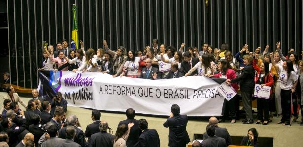 congresso cotas - Proposta de aumento de mulheres no Congresso patina e não tem relator