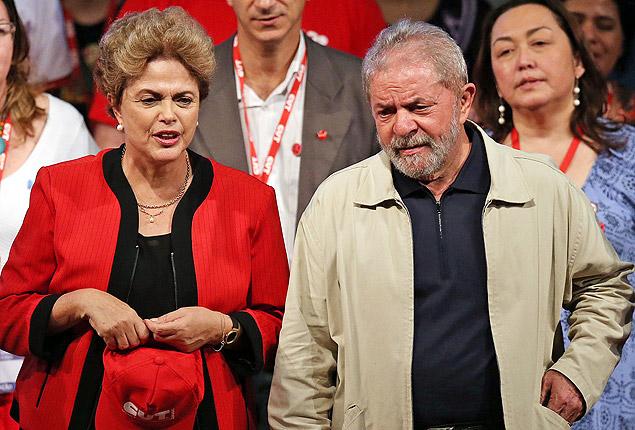 dilma e lulaaa - Parlamentares do PT voltam a pedir Lula como ministro