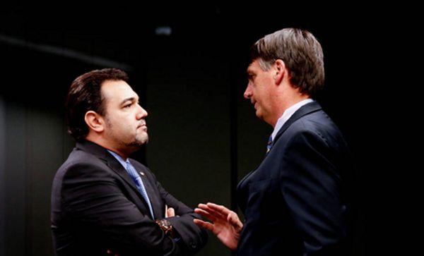feliciano - CHAPA DA DIREITA: Feliciano quer ser vice de Bolsonaro em 2018