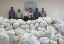 Rádio Tabajara entrega doações da campanha Futebol Solidário ao Hospital Padre Zé