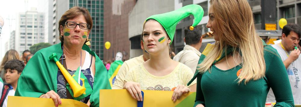 images cms image 000486415 - DATAFOLHA: Perfil dos manifestantes contra Dilma é 'classe alta'