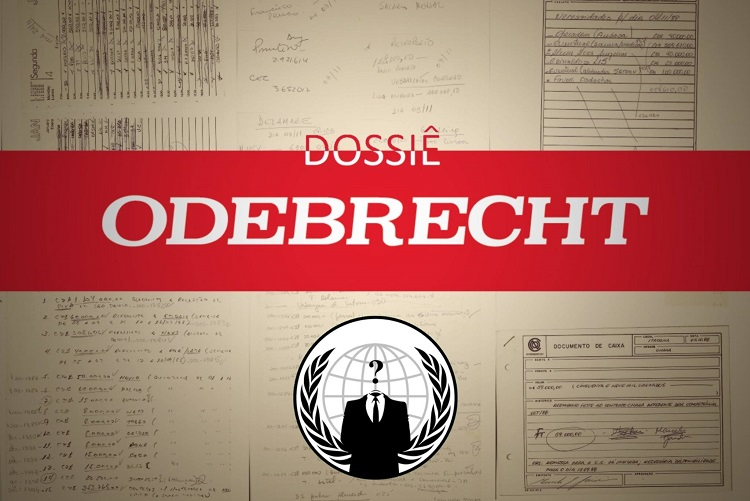 odebrecht - Grupo de hackers publica mais documentos sigilosos que comprovam pagamento de propinas